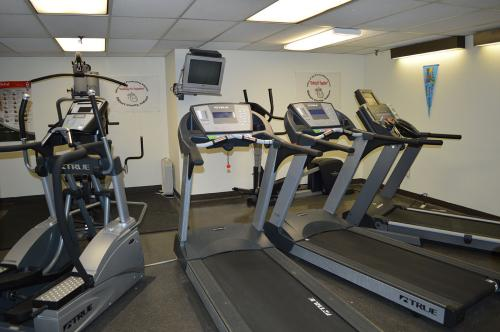 In-House Fitness Center for Employees.