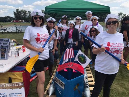 2017 United Way Great Cardboard Boat Race