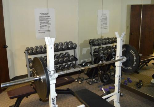 In-House Weight Room for Employees.