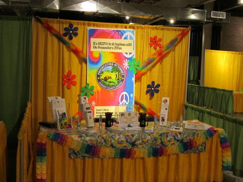 2011 Elkhart County Chamber of Commerce BizNess Expo Exhibit